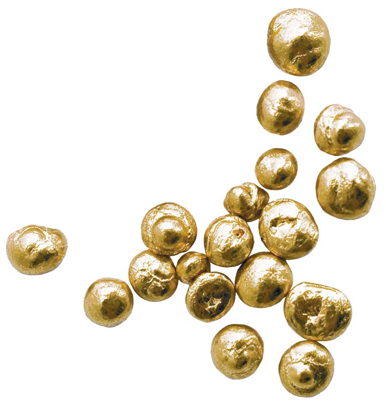 Des pépites d'or Fairtrade