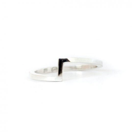 Bague en argent collection Mind The Gap