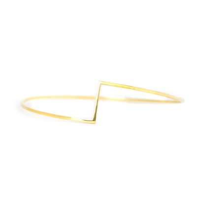 Mind The Gap gold bracelet