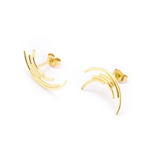 Boucles d'oreilles en or collection Perspective